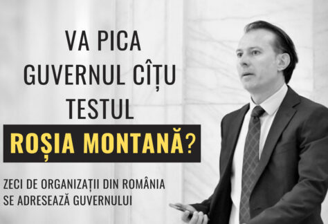 ANOSR a semnat scrisoarea deschisă pentru protejarea Roșiei Montane. Nu este acceptabilă niciun fel de ezitare din partea Guvernului României!